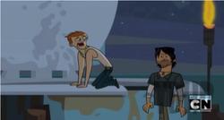 Scott taking the flush of shame