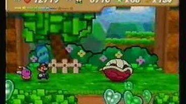 Paper Mario battle- Kent C