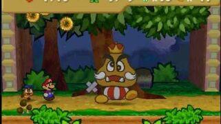 Paper Mario- Boss Battle- Goomboss