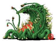 Godzilla neo biollante by kaijusamurai