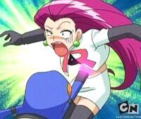 Croagunk Use Poison Jab to Jessie