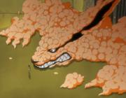 Kyūbi inside Naruto