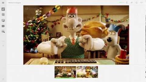 Wallace & Gromit 'Tis The Season for Get Togethers!