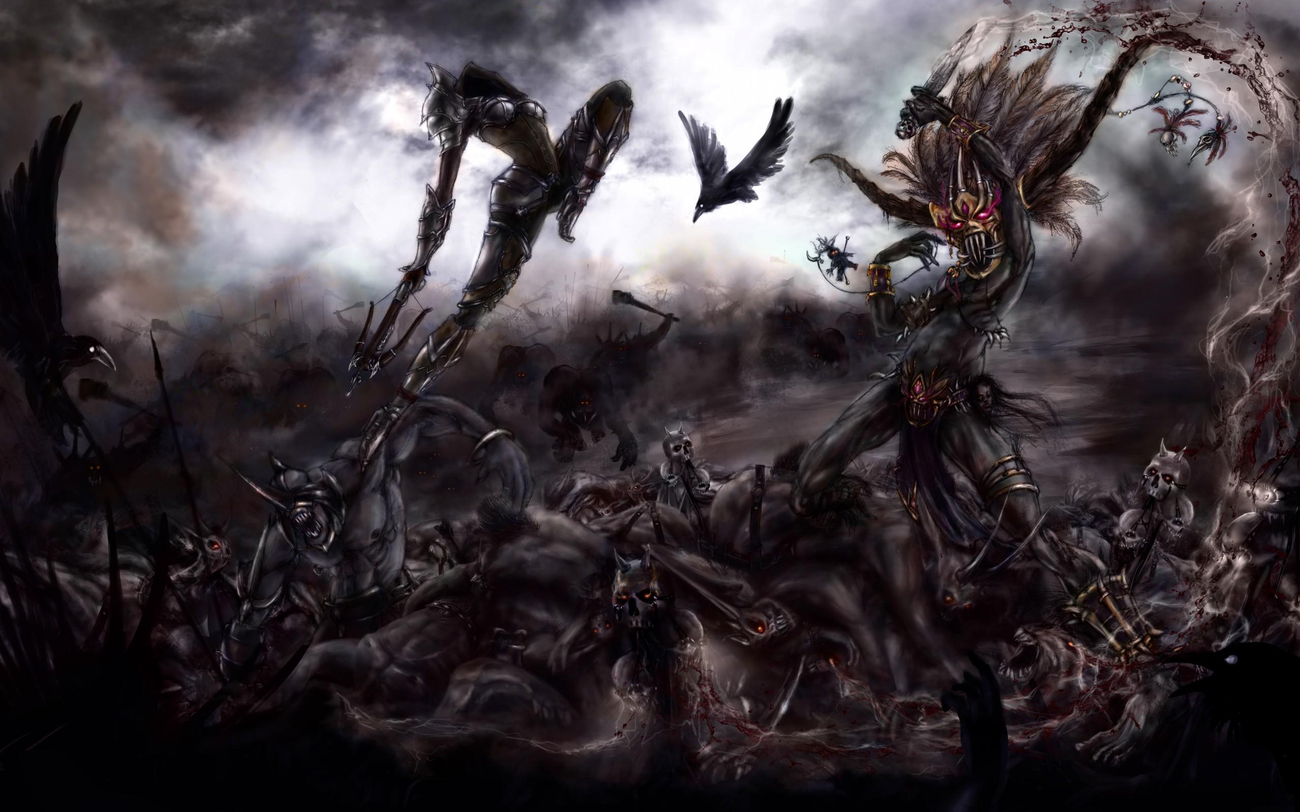 Angels Vs Demons Battle