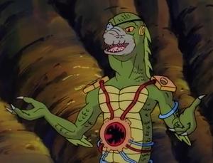 As Dr. Iguanoid