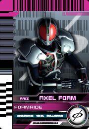 Form Ride Faiz Axel