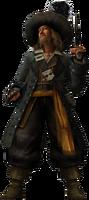 Captain Barbossa KHII