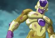 Golden Frieza defeats Goku
