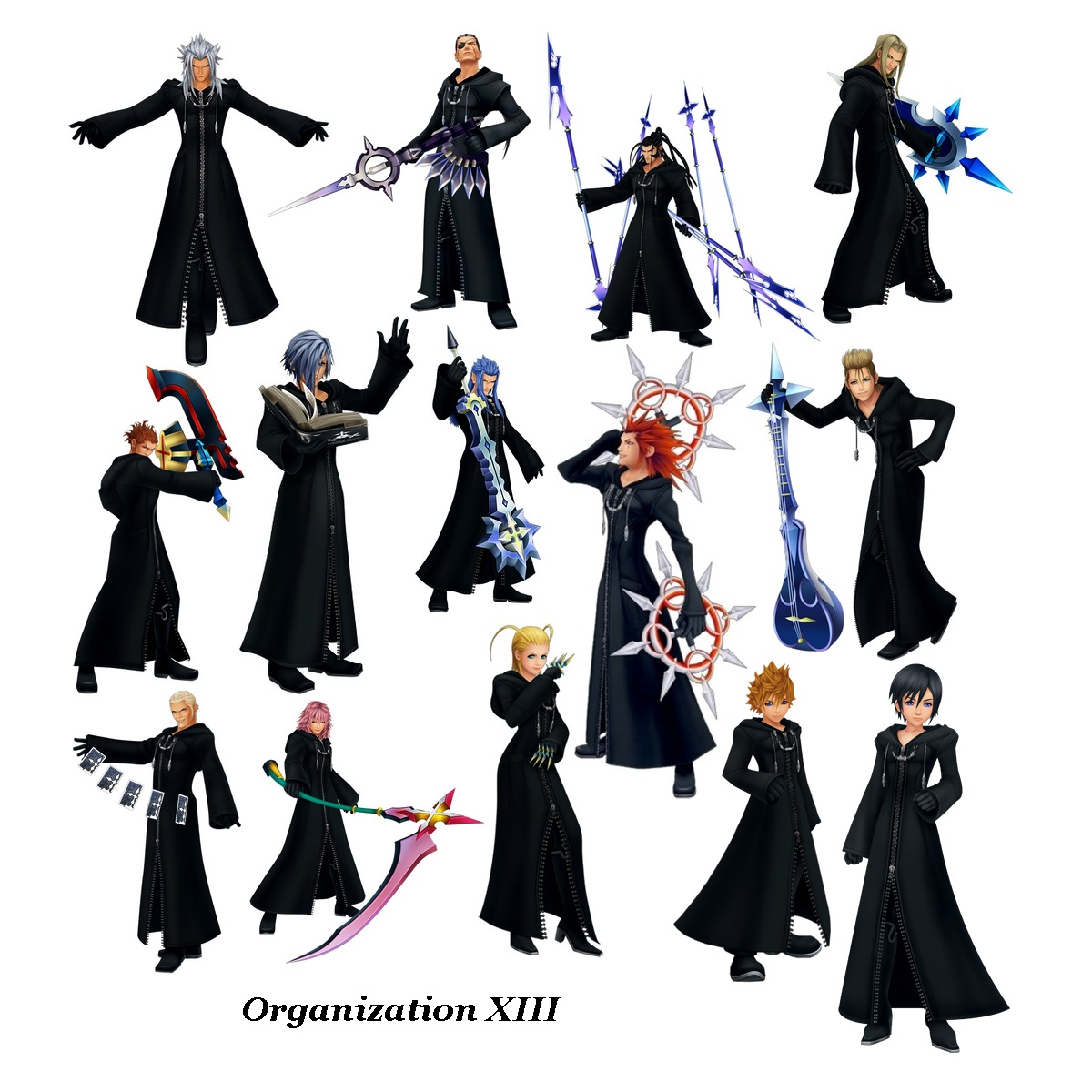 Organization Xiii Zexion