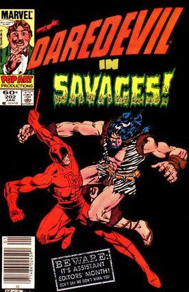 Daredevil Vol 1 202