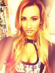Carmella Backstage