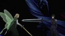 Kirito Vs Fairy King Oberon