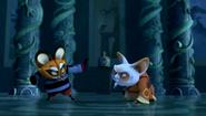Kung Fu Panda Legends of Awesomeness Junjie vs Shifu