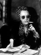 Norma Desmond smoking