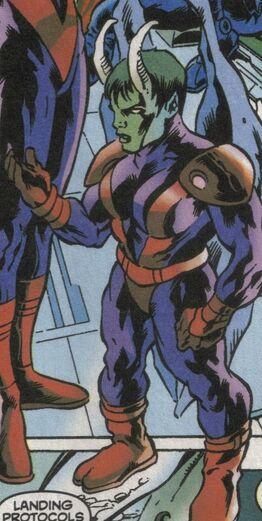 Lavinia LeBlanc (Earth-616) from Quicksilver Vol 1 9