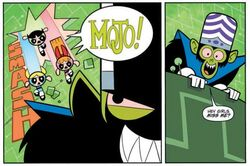 Mojo as he appears in the comics