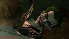 Joker Subduing Harleen