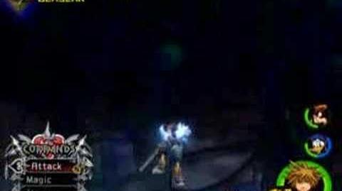 Kingdom Hearts II - Saix Battle