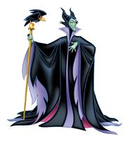 Maleficent & Diablo the Raven