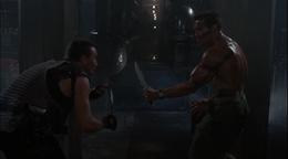 Matrix Bennett fight
