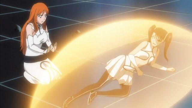 File:Orihime heals Loly again.jpg