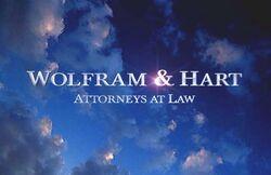 The Wolfram & Hart Logo