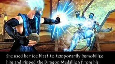 Mortal Kombat Deadly Alliance Frost's Ending
