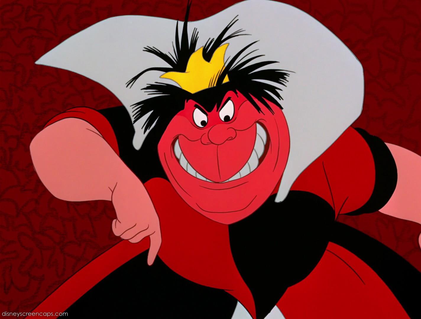 Queen of Hearts Alice in Wonderland