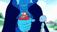 Blue Diamond's Grin