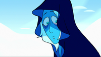 Blue Diamond show her face