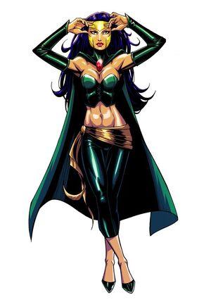 The Enchantress Dc Villains Wiki Fandom Powered By Wikia border=