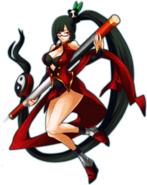 Litchi Faye-Ling (Continuum Shift, Character Select Artwork)