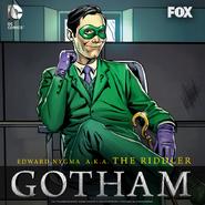 Edward Nygma as the Riddler Promotional
