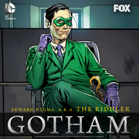Edward Nygma as the Riddler Promotional