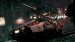 Arkham Militia Tank