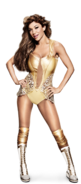 Rosa Mendes Golden Goddess