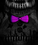 A possible image of Shadow Freddy for the FNAF4 game
