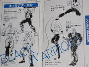 Black Warriors gang from the Famicom Double Dragon