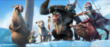 Gutt and his crew capture Scrat