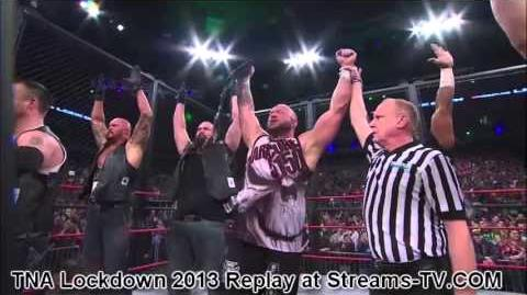 TNA Lockdown 2013 - Bully Ray joins the Aces and Eights