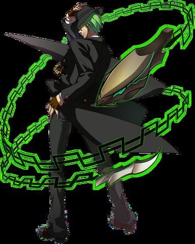 File:Hazama (Story Mode Artwork, Pre Battle).png