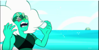 Malachite and Watermelon Steven