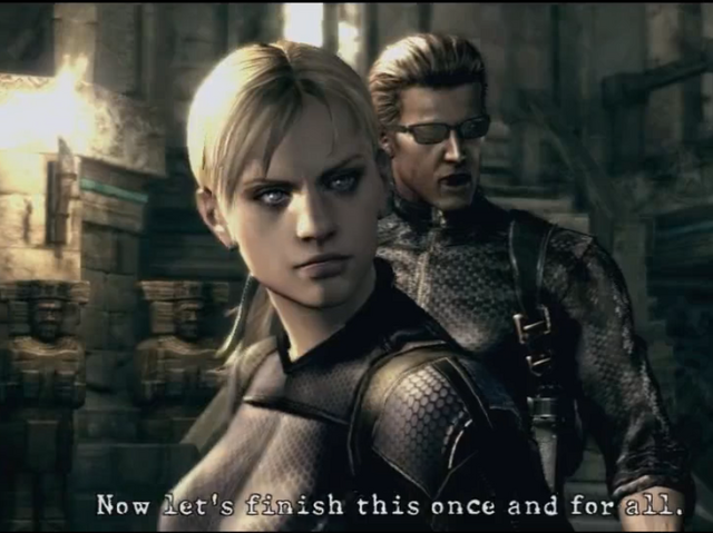 File:Jill And Wesker Boss Fight by wolfwarrior001.png