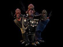 Molluck trio