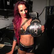 Sasha Banks NXT Women's Champion