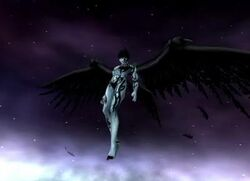 Flying Dark Seraphim