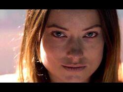 Zoe Evil Smirk