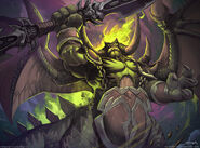 Wow tcg mannoroth by el grimlock-d6ijy8i