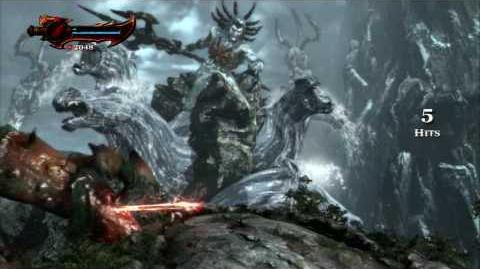 God of War III - Boss 1 Poseidon