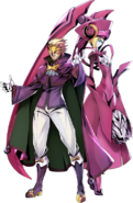 Relius Clover (Centralfiction, Character Select Artwork)